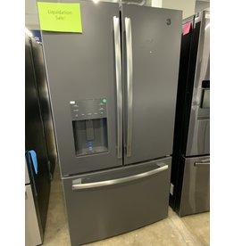GE GE 25.6 cu. ft. French-Door Refrigerator in Black Slate, Fingerprint Resistant and ENERGY STAR