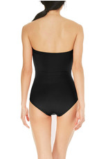 KATE SPADE Scalloped Bandeau Cut Out One Piece