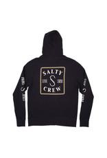 SALTY CREW Squared Up Zip Fleece Hoodie