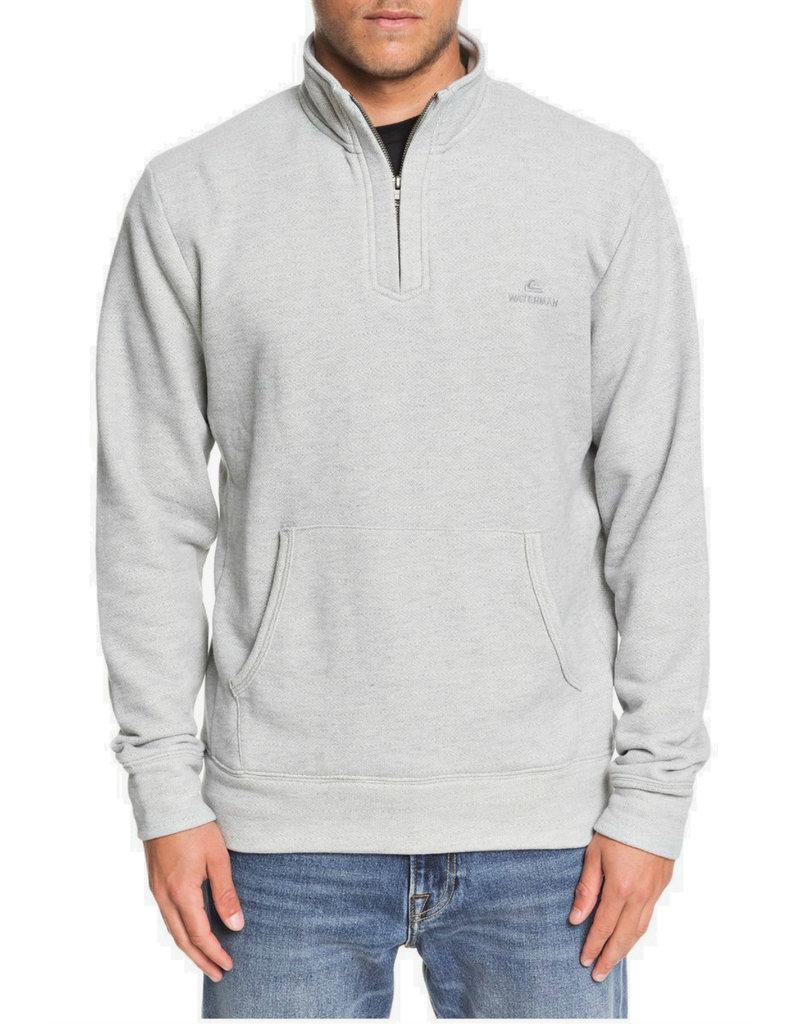 QUIKSILVER MENS Waterman Ocean Nights Half-Zip Sweatshirt