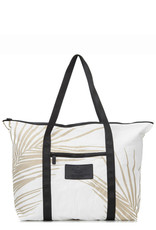 ALOHA COLLECTION Fronds Zipper Tote