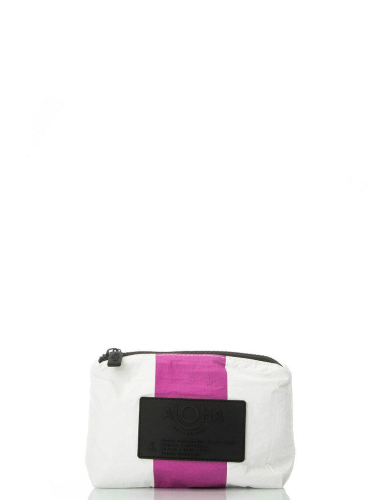 ALOHA COLLECTION Vertical Stripe Mini Pouch