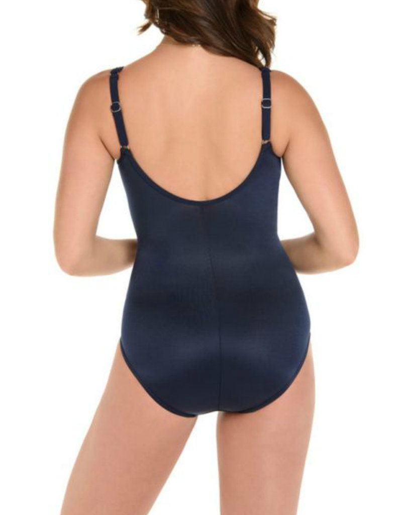 MIRACLESUIT Miraclesuit DD Cup Solid Madero One Piece