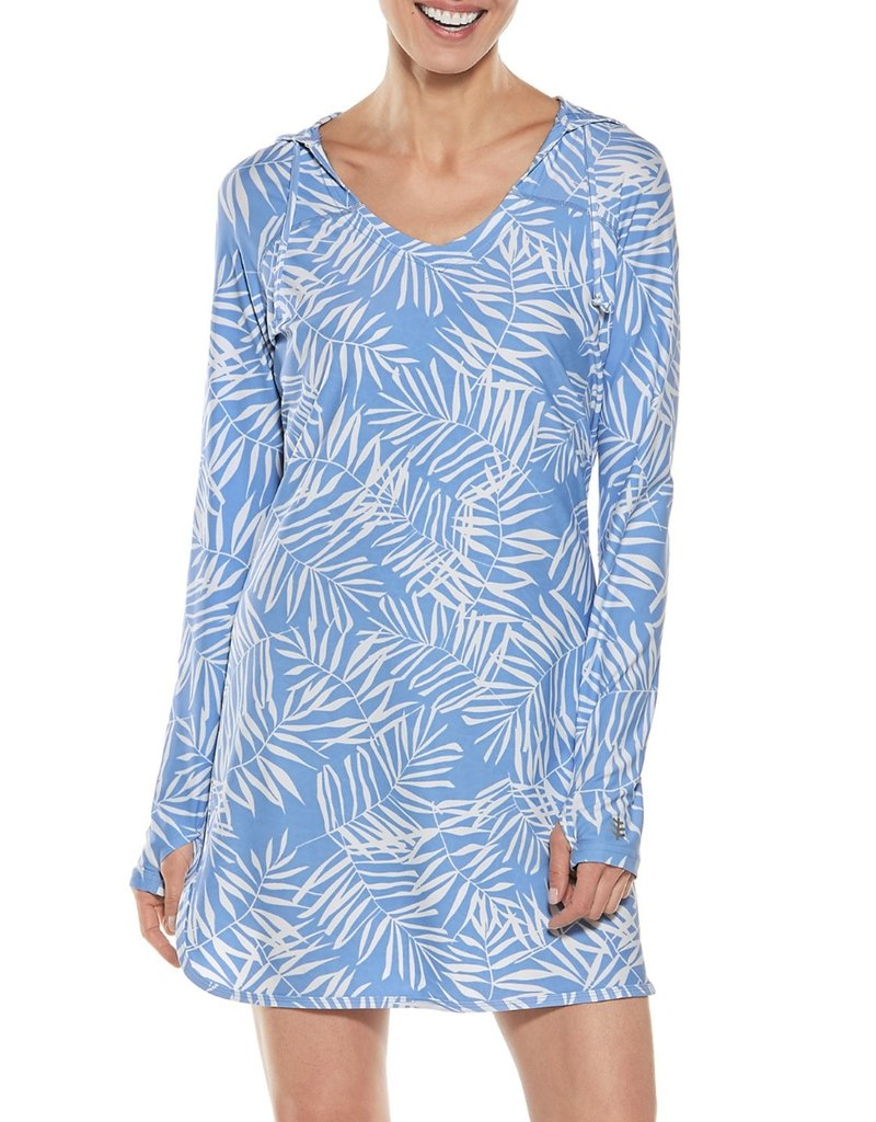 COOLIBAR WOMENS Seacoast Swim Cover Up Dress UPF 50+