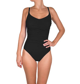 SHAN Ruched Front One Piece