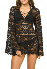 PQ SWIM WOMAN Noah Lace Tunic