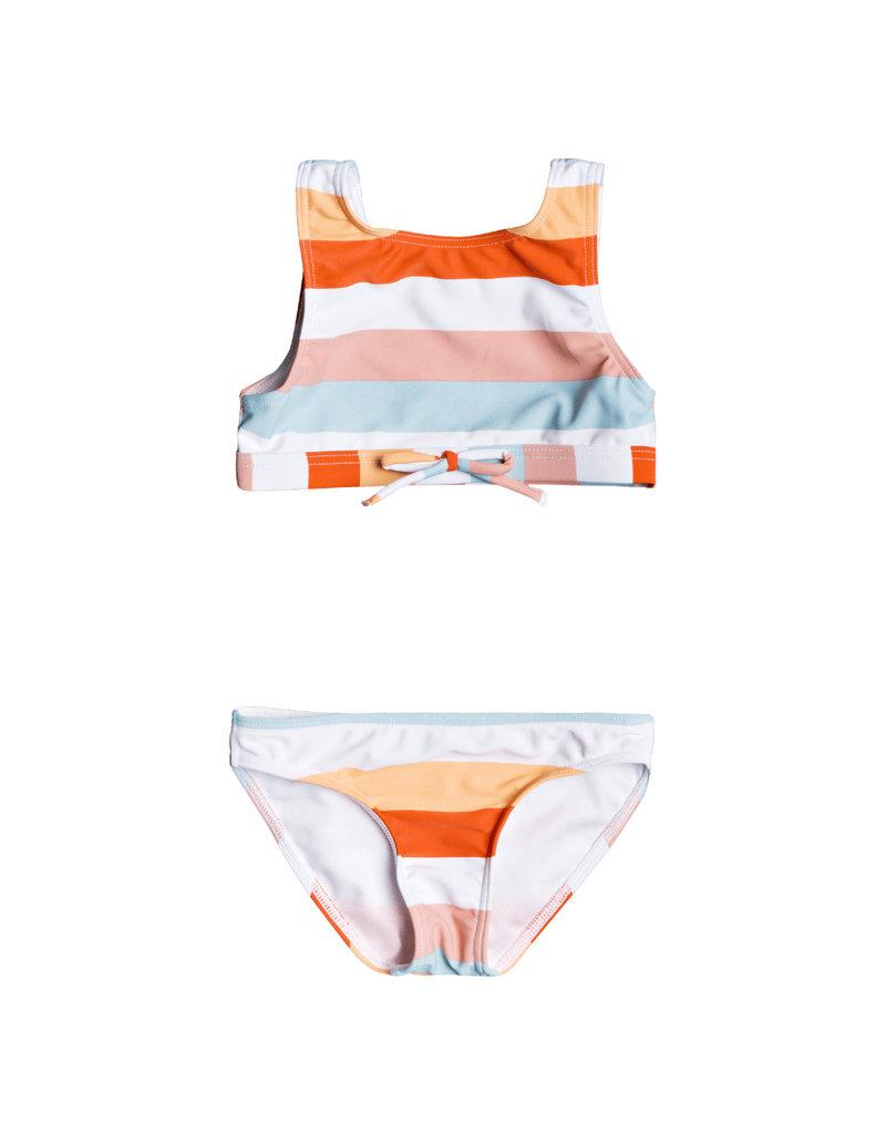 ROXY GIRL Jolis Parasols Crop Top Bikini Set
