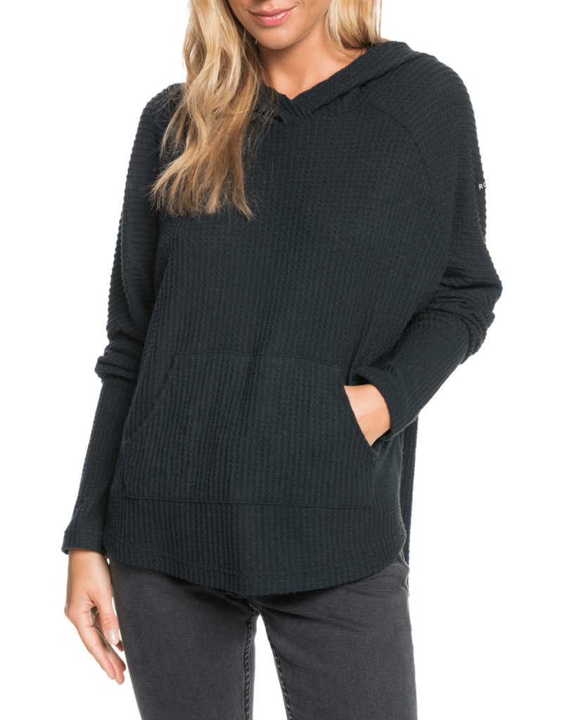 ROXY WOMAN Sky At Night Waffle Knit Hoodie