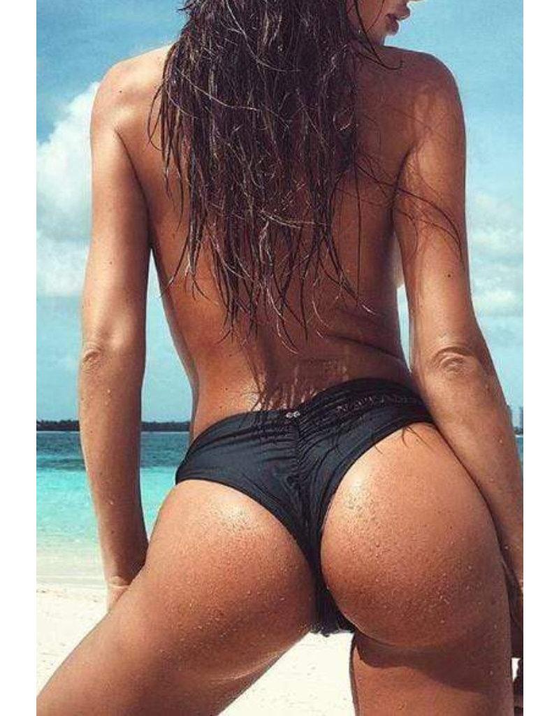 PQ SWIM WOMAN Basic Ruched Teeny Bottom