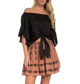 ELAN Off-the-Shoulder Top