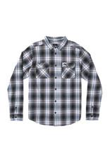 RVCA MAN Hostile Plaid Button-Up Flannel