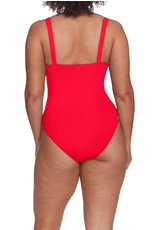 ROBIN PICCONE Ava Knot Plunge One Piece