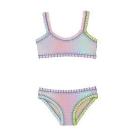 PQ SWIM GIRL Embroidered Two Piece