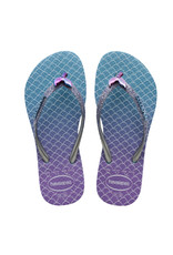 HAVAIANAS GIRL Slim Glitter Mermaid Sandal