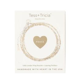 "TESS + TRICIA ""Peace"" Bracelet"