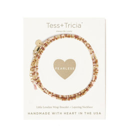 "TESS + TRICIA ""Fearless"" Bracelet"