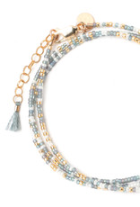 "TESS + TRICIA Little Lovelies ""Clarity"" Carded Bracelet"