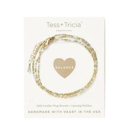 "TESS + TRICIA ""Balance"" Bracelet"