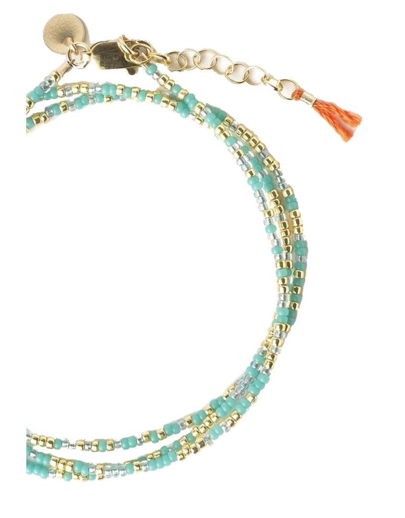 "TESS + TRICIA Little Lovelies ""Ambition"" Carded Bracelet"