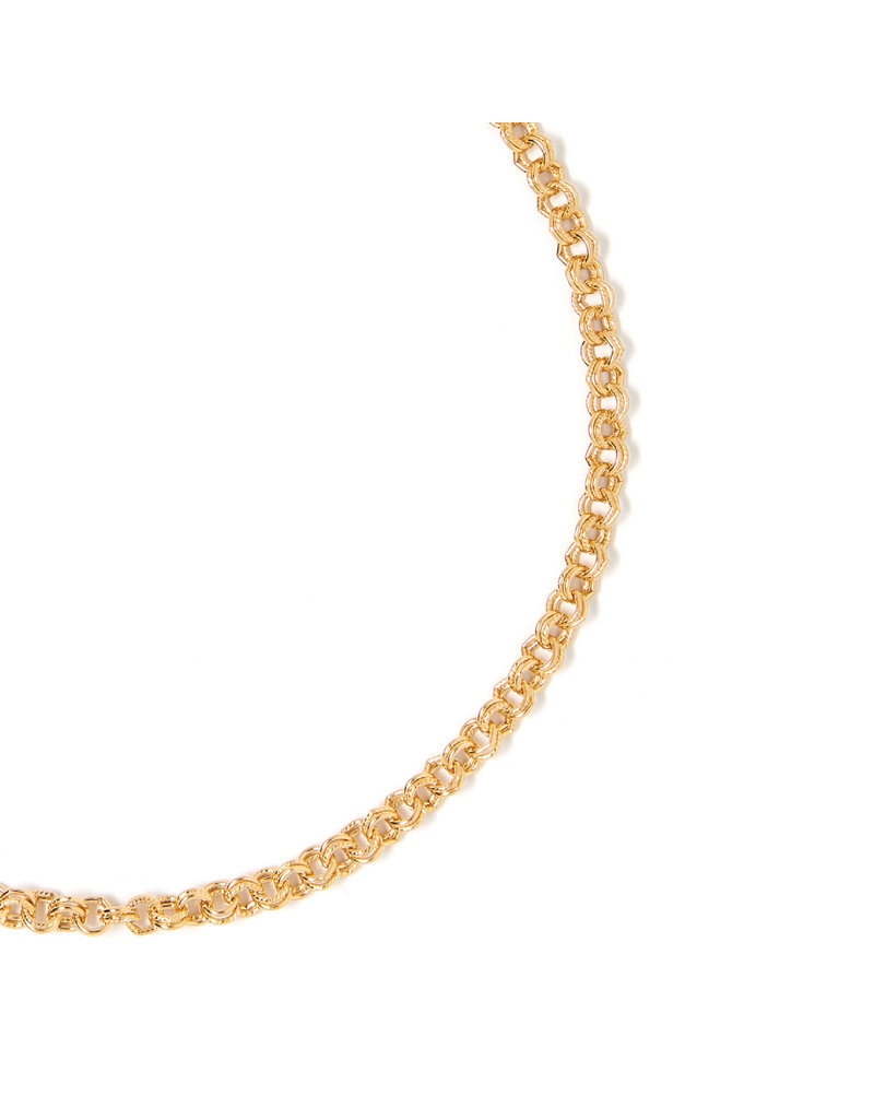 TESS + TRICIA Sophie Small Gold Necklace