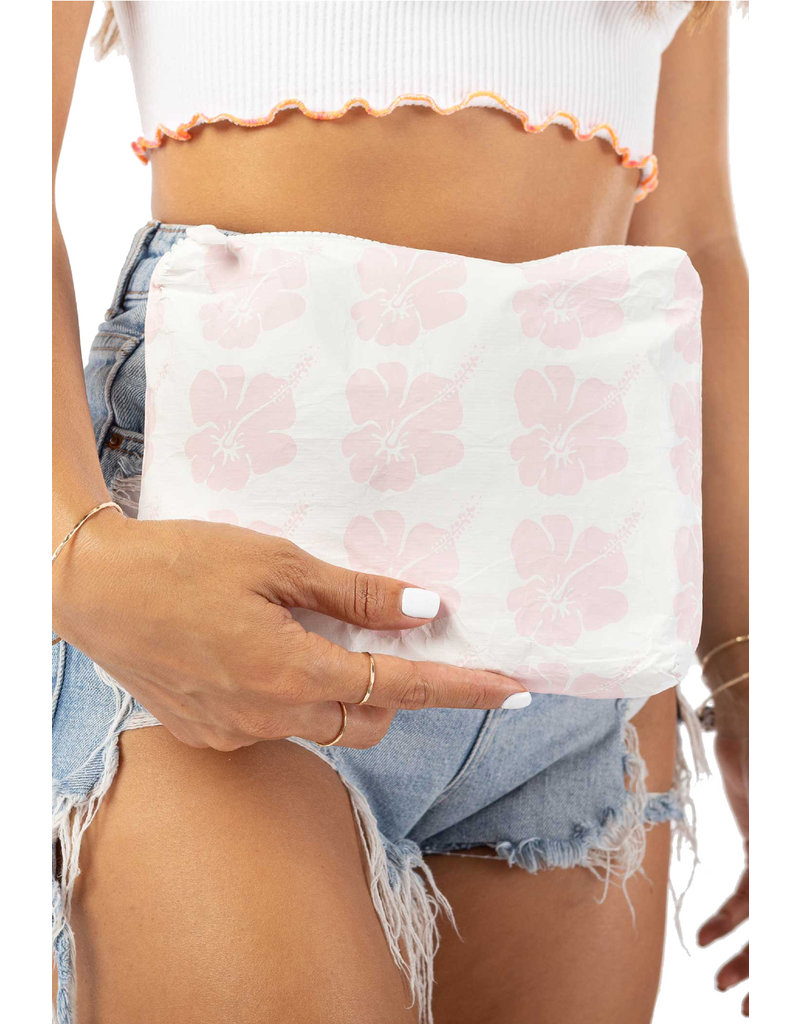 Aloha Collection Small Hibiscus Bloom Pouch