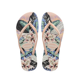 HAVAIANAS WOMAN Slim Animal Floral Sandal