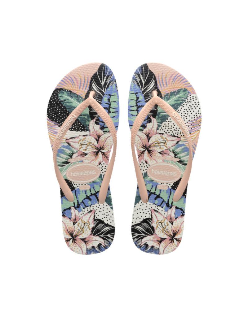 HAVAIANAS GIRL Slim Animal Floral Sandal