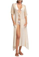 ELAN Cora Crochet Kimono
