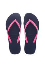 HAVAIANAS GIRL Slim Logo Pop Up Sandal
