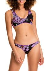 MAAJI WOMAN Lilac Blossom Glee Sporty Reversible Bralette Top