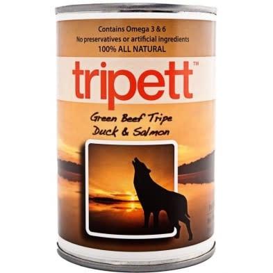 Tripett Green Beef Tripe Duck & Salmon 12/ 396g