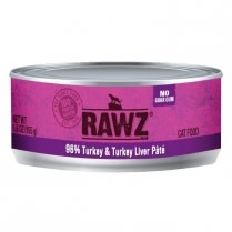 Rawz Cat Turkey and Turkey Liver 5.5oz