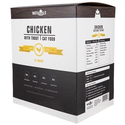 Naturawls  Chicken & Trout 24/113GM | Cat