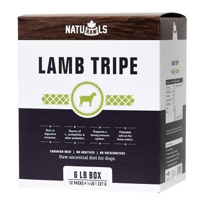 Naturawls Lamb Tripe 12/227g