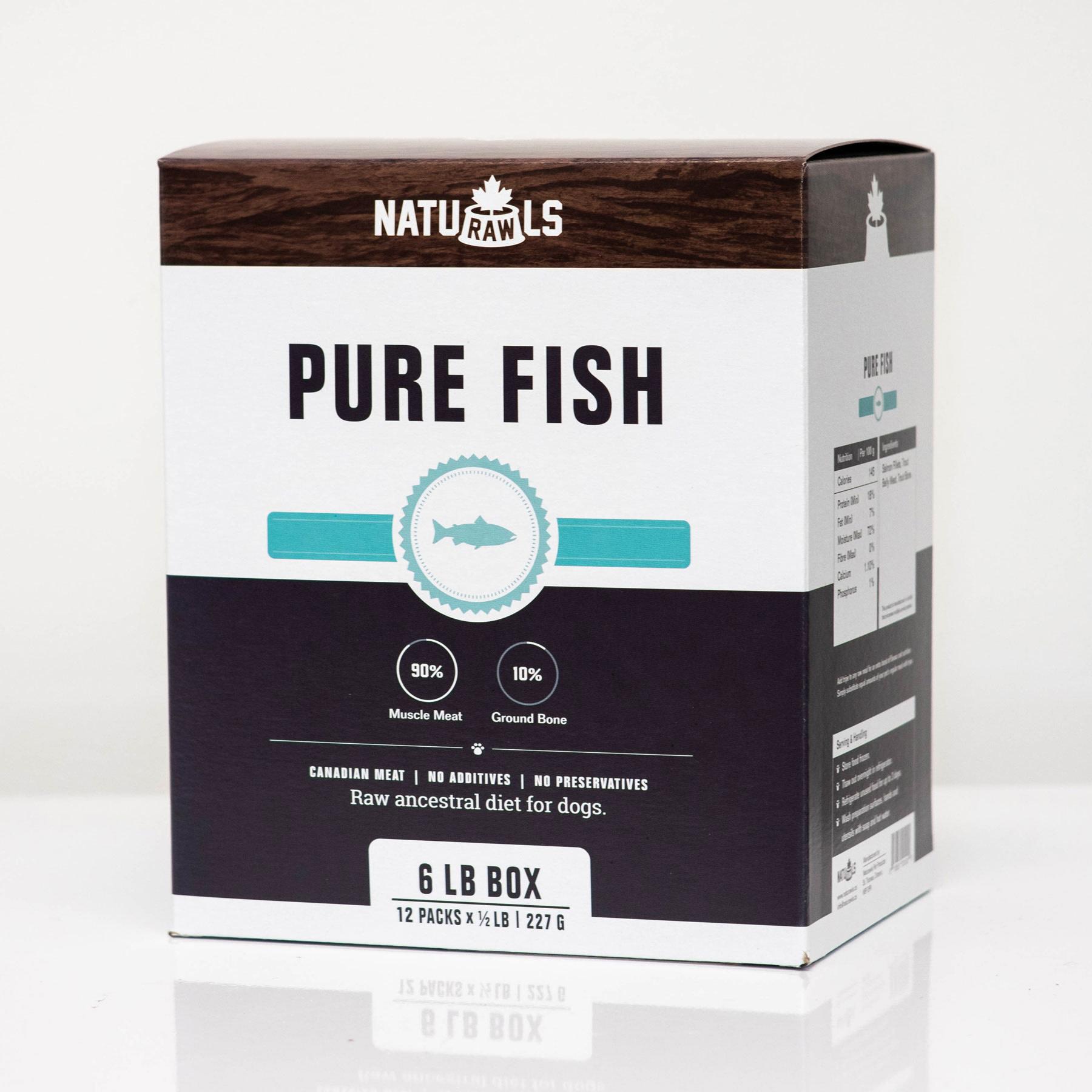 Naturawls Pure Salmon & Trout 12/227GM