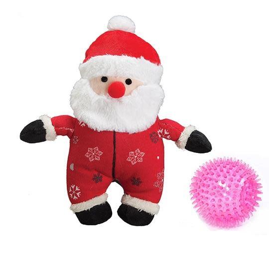 """XMAS Santa Prickle ball in Onsie 9"""""""