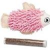 Budz Fish Catnip Pckt 1tbe 4.5in (four colors)
