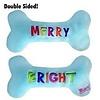 H&K Plush Bone Merry+Bright