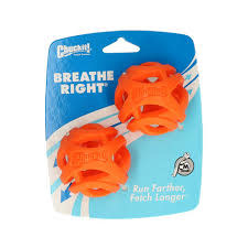 Breathe Right Fetch Ball 2pk Med