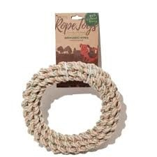 Braided Ring Hemp Rope Medium