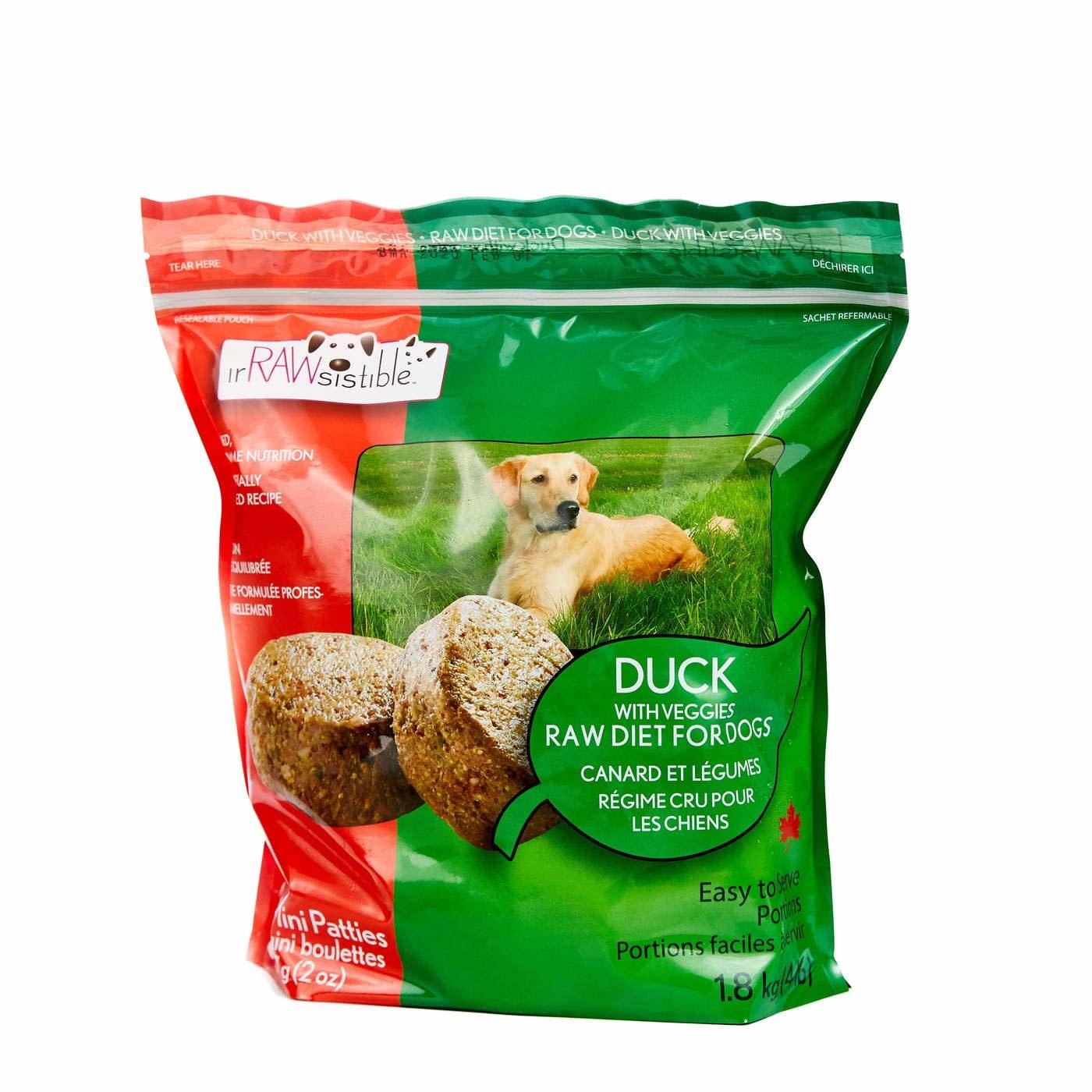 1.8kg Duck Veg Patties