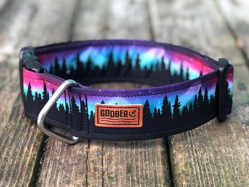 Goober Collar Northern Lights Pink