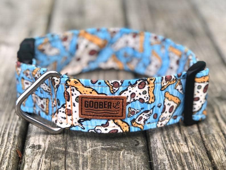 Goober collar Blue Pizza