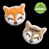 Fox & Deer  Snow Cute