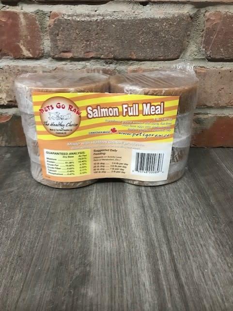 Salmon Full Meal 4lbs (8-0.5lb patties)