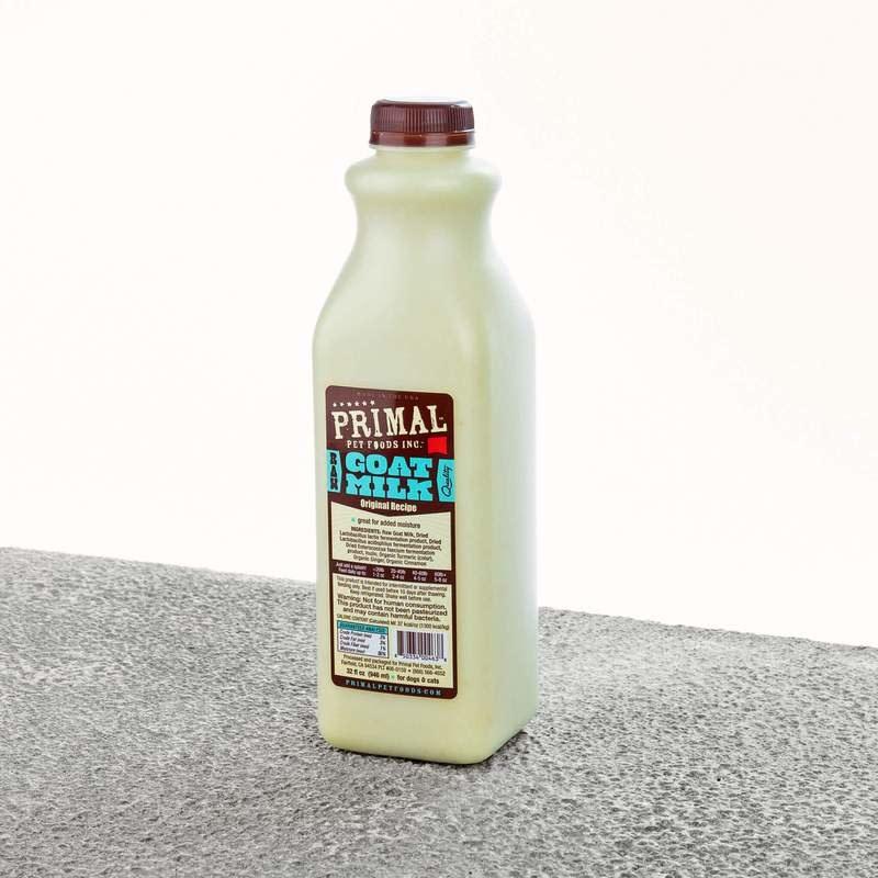 Primal Frozen Goat Milk (2 sizes)