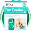 Outward Hound  Fun Feeder Bowl Mint Tiny