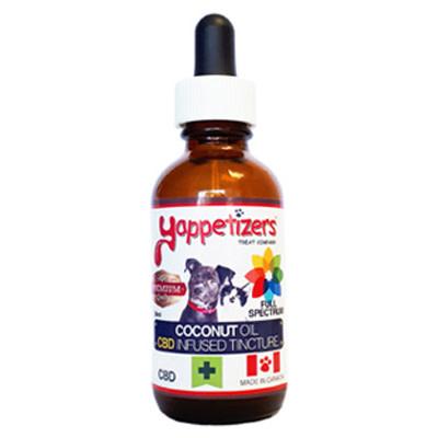 Yappetizers 500mg Coconut Oil 50ml Hemp Terpenes