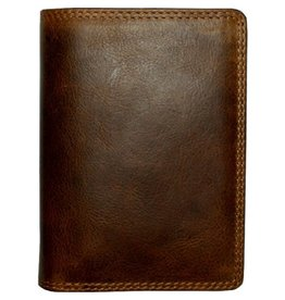 """Rugged Earth Rugged Earth 990007 Wallet Brown W3 1/2""""*H5""""*D1"""""""