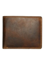 "Rugged Earth Rugged Earth 990008 Wallet Brown W4 3/4""*H4""*D3/4"""